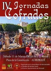Cartel Jornadas Cofrades 2017