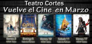 Cartelera de Cine Marzo en Almoradí