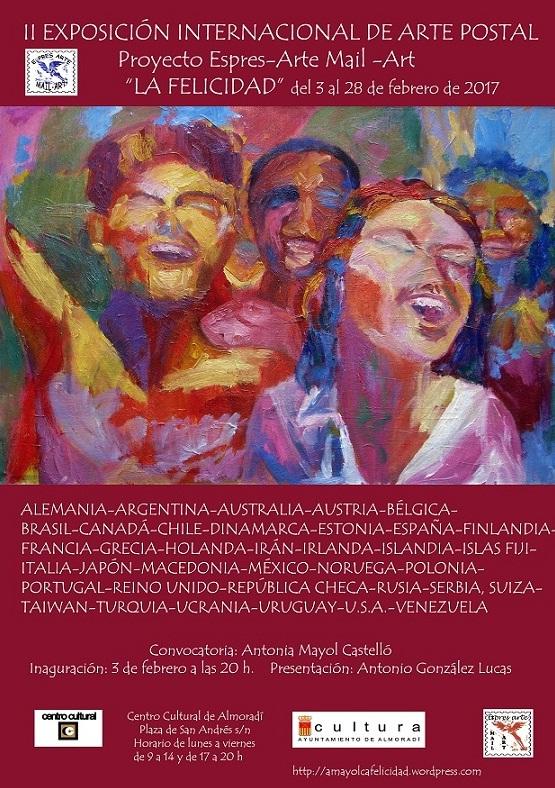 """Exposición de Arte Postal """"La Felicidad"""""""