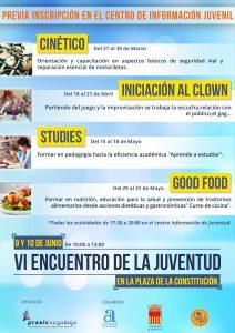 Cartel Jornada Juventud Almoradí 2017