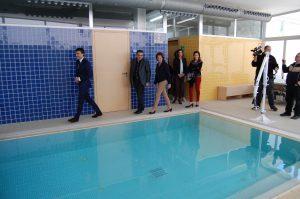 Imagen de la piscina del centro ADA