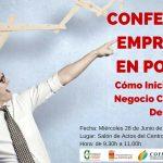 """Conferencia: """"Emprender en positivo: cómo iniciar tu propio proyecto con garantías de éxito"""""""