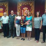 Reconocimiento de la Corporación Municipal a Alexandro García