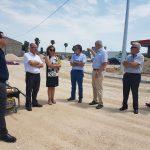 Visita a Almoradí del Director General de Obras Públicas