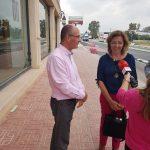 Visita a las mejoras en la CV-912 (Carretera Almoradí-Dolores)