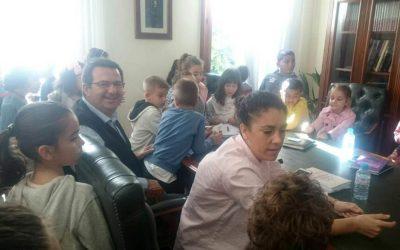 Visitas escolares al Ayuntamiento de Almoradí