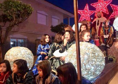Cabalgata de sus Majestades los Reyes Magos de Oriente en Almoradí