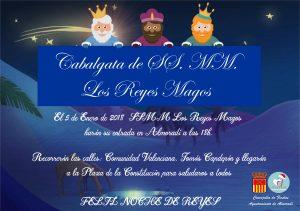 Cabalgata de Reyes en Almoradí