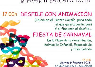 Celebración del Carnaval en Almoradí