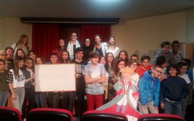 """Alumnos de los IES asisten a la representación dramatizada con la temática de """"El Principito"""""""