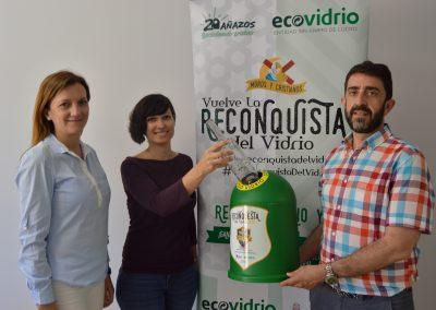 Ecovidrio vuelve con La Reconquista del Vidrio a las fiestas de Moros y Cristianos de Almoradí