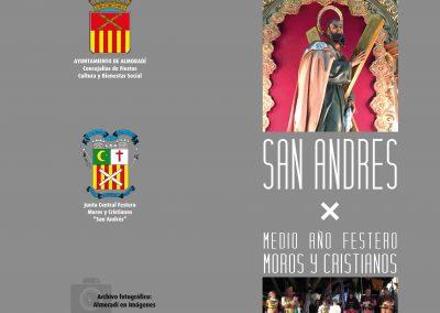 Programación de San Andrés y Medio Año Festero