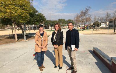 El Ayuntamiento invierte 35.000 euros en el Parque Bejar
