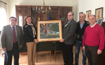 Rotary Club entrega el cuadro del Árbol de los Mazones