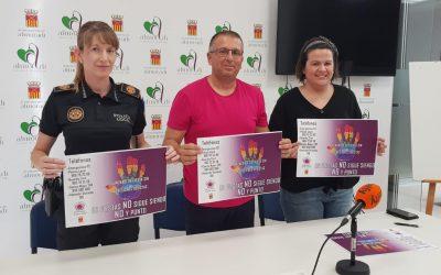 """El Ayuntamiento presenta la campaña  """"Almoradí de Fiesta sin agresiones sexistas"""""""
