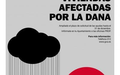 AMPLIACIÓN, HASTA EL 31 DE DICIEMBRE, DEL PLAZO DE SOLICITUD DE AYUDAS URGENTES