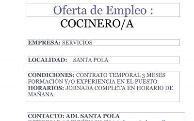 Nueva Oferta de Empleo