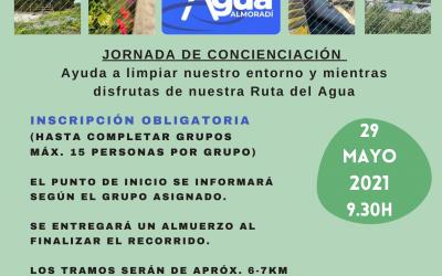 1º PLOGGING RUTA DEL AGUA EN ALMORADÍ