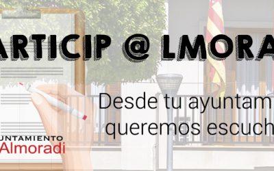 PARTICIP@LMORADÍ – Concejalía de Cultura🎭