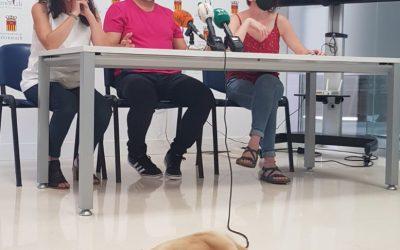 """Almoradí impulsa el """"Proyecto Avanza-Dogs"""", un Proyecto pionero de intervención comunitaria con perros destinado a jóvenes en situación de vulnerabilidad"""