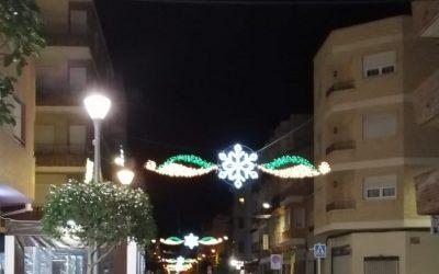 La Excma. Diputacion de Alicante concede una subvención para sufragar los gastos de la iluminación navideña de 2020
